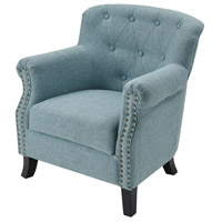 Ciela Sea Foam Linen Chair