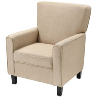 Melcher Tan Linen Chair