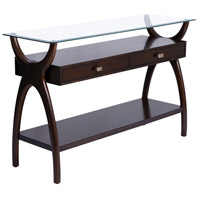 Hildegard 48 X 16 inch Dark Cherry Stain Console Table