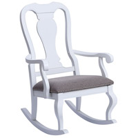 Tress White Rocking Chair