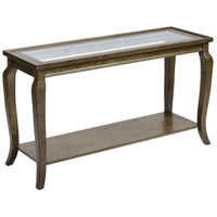 Dutton 52 inch Antique Brown Console Table