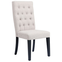 Stein World 16999 Dorling Natural Linen Fabric Dining Chair