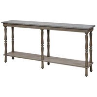 Turner 72 X 14 inch Faux Concrete/Millstone Console Table