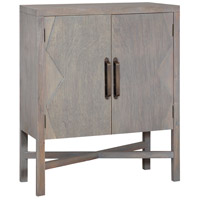 Crosser Rich Grey Mahogany Cabinet