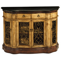 Cantebury Antique Tan and Black Cabinet