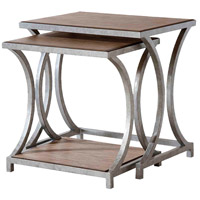 Palos Heights 24 X 18 inch Weathered Oak Nesting Tables Home Decor