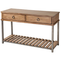 Beaumont 48 X 18 inch Light Brown/Grey Console Table