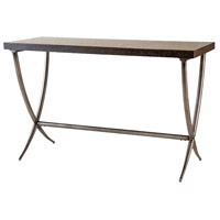 Valencia 48 X 18 inch Black and Antique Silver Console Table Home Decor