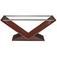 Stein World 331-011 Vincent 48 X 26 inch Mahogany Cocktail Table
