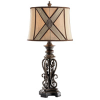 Stein World 34950 Chastain 29 inch 100 watt Brown Table Lamp Portable Light