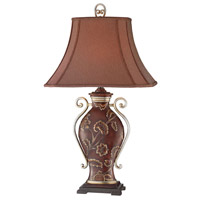 Signature 33 inch Brown Table Lamp Portable Light