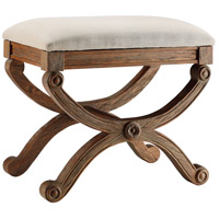 Stein World 47539 Sinclair 22 inch Weathered Accent Stool