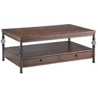 Sherwood 50 X 30 inch Cocktail Table Home Decor, Rectangular