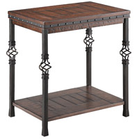 Sherwood 24 X 17 inch Distressed Chairside Table Home Decor