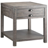 Bridgeport 26 X 23 inch Grey End Table Home Decor, Rectangular