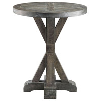 Bridgeport 22 X 22 inch Grey End Table Home Decor, Round