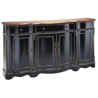 Van Velsor Black and Brown Cabinet
