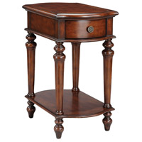 Stein World 75722 Norwood 30 X 24 Inch Mahogany Accent Table