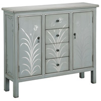 Selina 43 X 12 inch Silver and Blue with Grey Sideboard