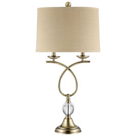 Champagne Table Lamps
