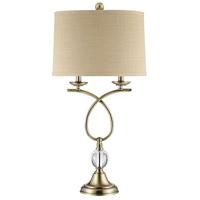 Stein World 76036 Lupton 31 inch 100 watt Champagne Table Lamp Portable Light