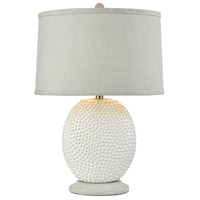 Stein World 76082 Bjorko 26 inch 150 watt White Table Lamp Portable Light