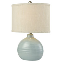 Stein World 76083 Formentera 21 inch Blue Table Lamp Portable Light