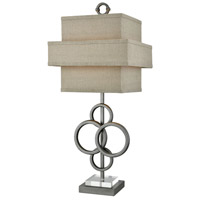 Omnibus 31 inch Brown Table Lamp Portable Light