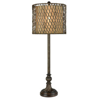 Jaca 33 inch Brown Table Lamp Portable Light