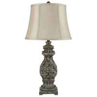 Stein World 76094 Fontainebleau 32 inch 150 watt Grey Table Lamp Portable Light