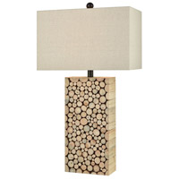 Brown Wood Table Lamps