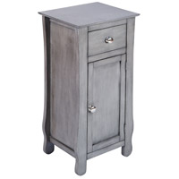 Stein World 76315 Ottawa Grey Cabinet
