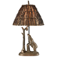 Stein World 77004 Bearly Short 31 inch Brown Table Lamp Portable Light