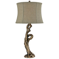 Ferny 30 inch Bronze Table Lamp Portable Light