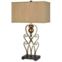 Ixia 29 inch Antique Gold Table Lamp Portable Light
