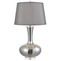 Stein World 77028 Enchante 32 inch 150 watt Silver Table Lamp Portable Light