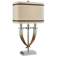 Silver Composite Table Lamps