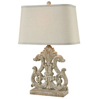 Bethnal 27 inch Parisian Stone Table Lamp Portable Light