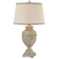 Picard 30 inch Parisian Stone Table Lamp Portable Light
