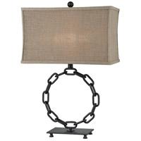 Stein World 77054 Ohajis 27 inch Dark Rust Table Lamp Portable Light
