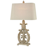 Stein World 77065 Cheshire 30 inch Parisian Stone Table Lamp Portable Light