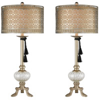 Metalic Gold Steel Table Lamps