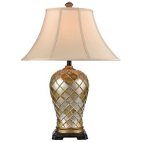 Stein World 77093 Qasar 28 inch 150 watt Antique Gold Table Lamp Portable Light