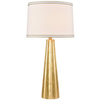 Stein World 77107 Hightower 31 inch 150 watt Gold Leaf Table Lamp Portable Light