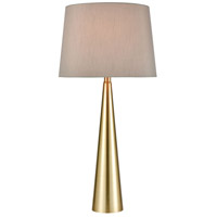 Soft Brass Metal Table Lamps