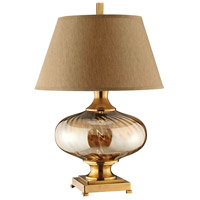 Brass and Steel Table Lamps