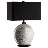 Stein World 95654 Pari 29 inch 150 watt Silver Table Lamp Portable Light