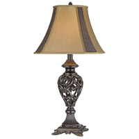 Heartsong 32 inch 150 watt Bronze Table Lamp Portable Light