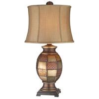 Stein World 96704 Deliah 32 inch 150 watt Aged Metallic Table Lamp Portable Light