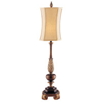 Sweet Ginger 36 inch 60 watt Antique Gold and Copper Bronze Buffet Lamp Portable Light